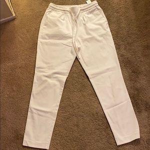 Zara pants with elastic waist and drawstring